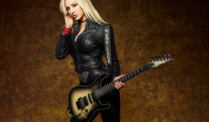 Nita Strauss Discusses Her New Album 'Controlled Chaos' & Alice Cooper