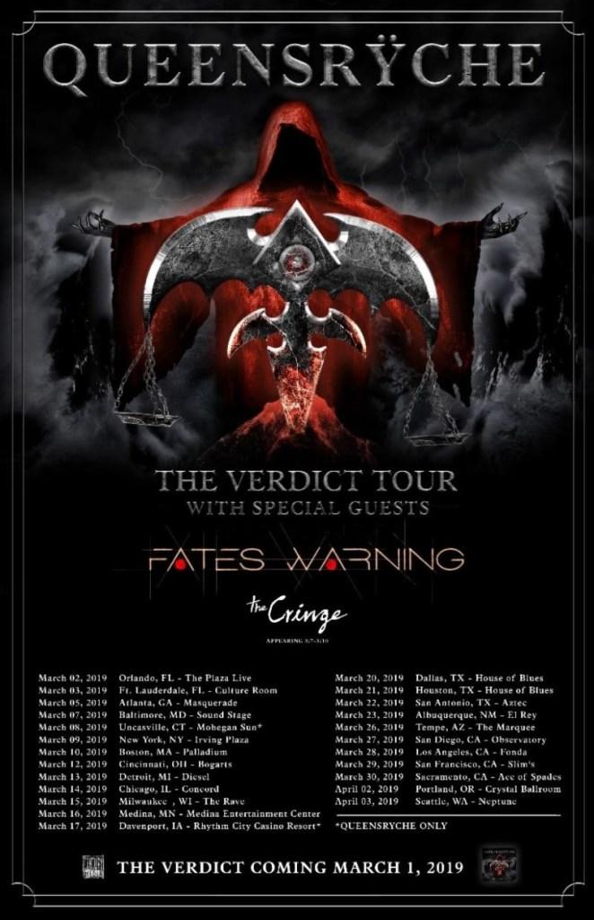 Queensrÿche Announce New Album 'The Verdict' & 2019 Tour