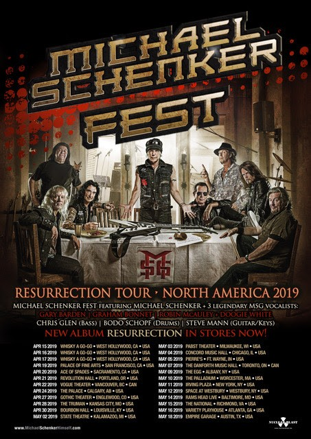 "Michael Schenker Fest To Release New Album ""Revelation"" On August 23"