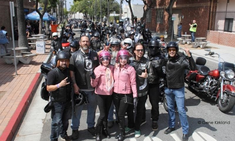 Fifth Annual Ride For Ronnie Motorcycle Ride & Concert Raises $46,000 for Ronnie James Dio Stand Up And Shout Cancer Fund