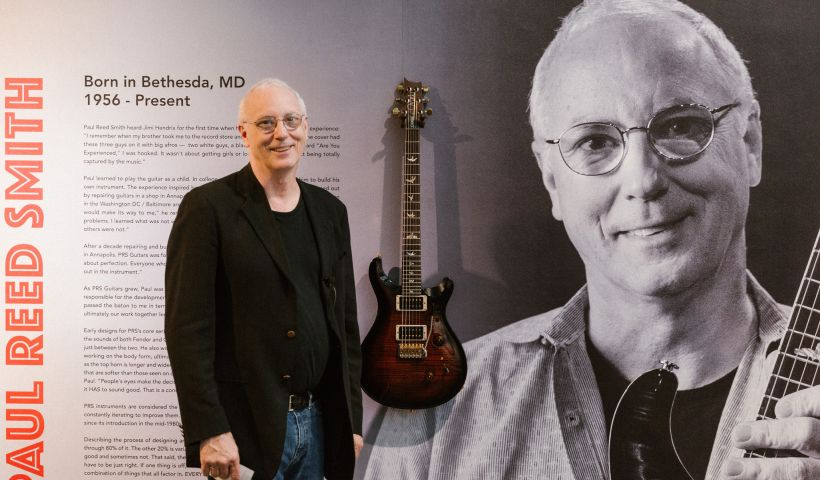"""PRS Guitars Helps Open Modas """"Wire & Wood: Designing Iconic Guitars"""" Exhibition"""