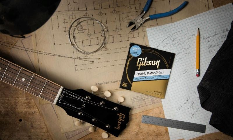 Gibson: New 'Vintage Reissue,' 'Brite Wire' And 'Acoustic' String Collections Premiere Worldwide