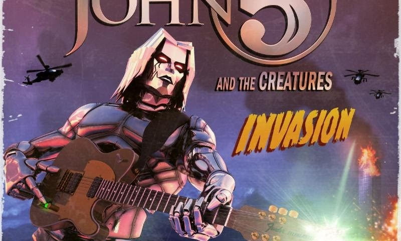 "John 5 & The Creatures Release New Album, ""Invasion"" Today + New Video For ""I Want It All"""
