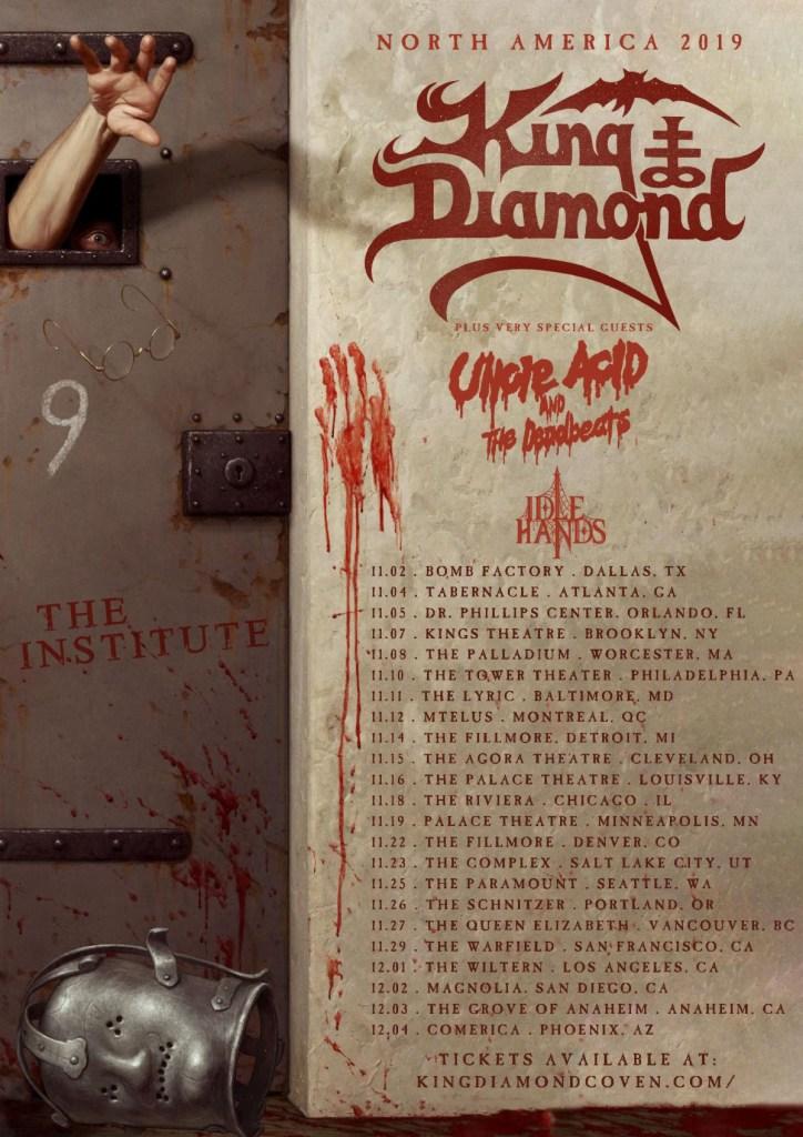 King Diamond Announces US Tour Dates & Reveals Upcoming Album Details
