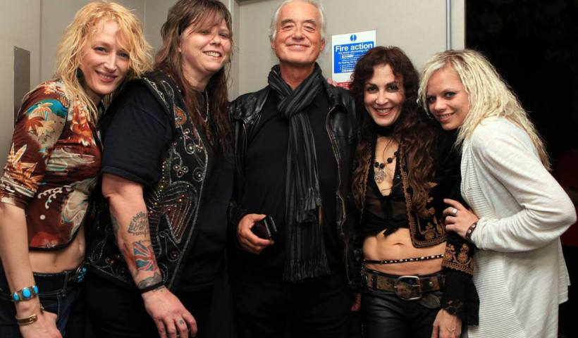 Steph Paynes Proves Why Lez Zeppelin Is Jimmy Page Approved