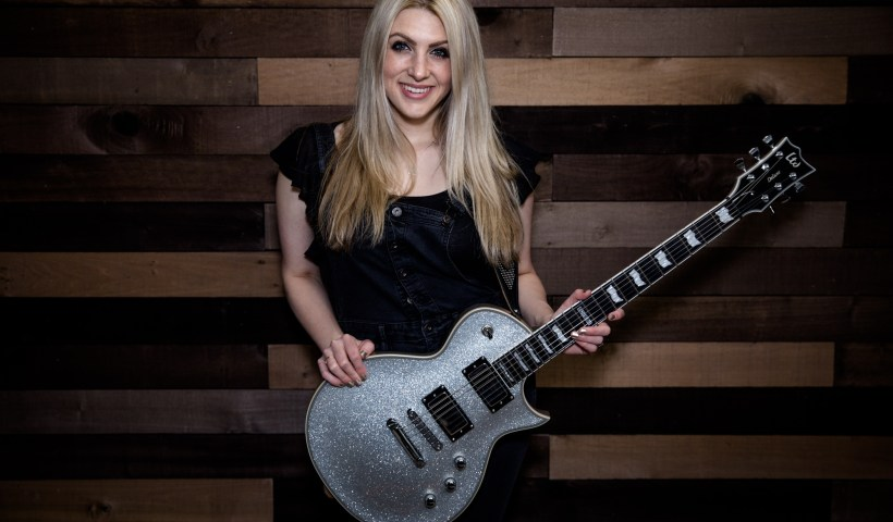Stephanie Bradley Is Shredding Her Way Up The Guitar Circles