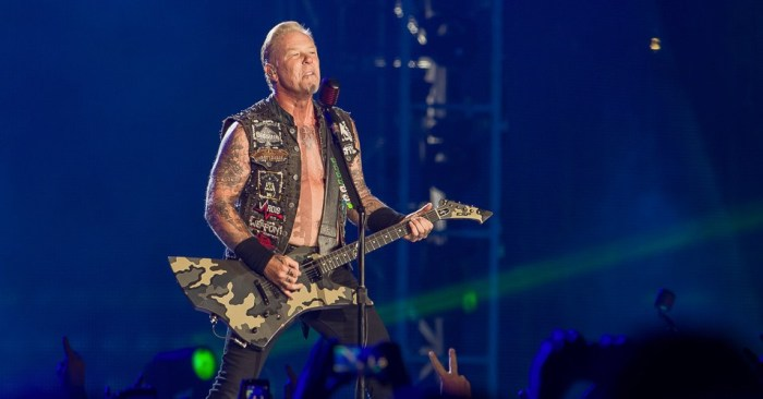 Metallica Postpones Upcoming Tour As James Hetfield Enters Rehab