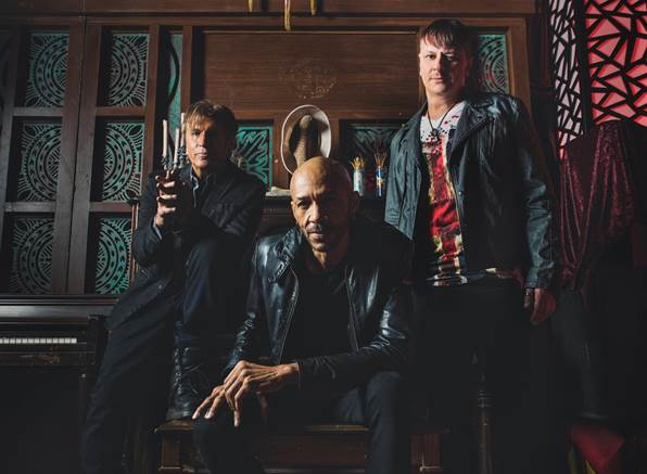 "KXM Featuring George Lynch Release Video For ""Time Flies"""