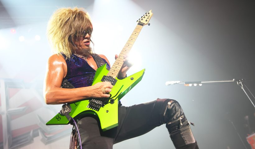 Akira Takasaki Still Shredding With Loudness After 40 Years