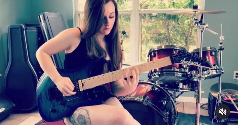 Orlando Native Alyssa Day Shreds Her Fretboard On Instagram