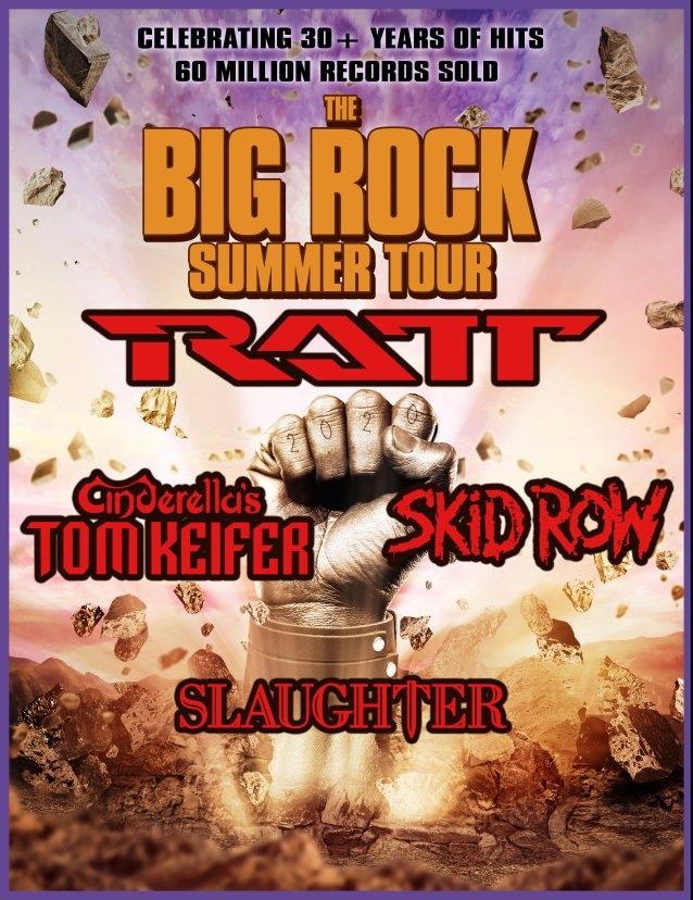 Ratt, Tom Keifer, Skid Row & Slaughter Join Forces For 'The Big Rock Summer Tour'