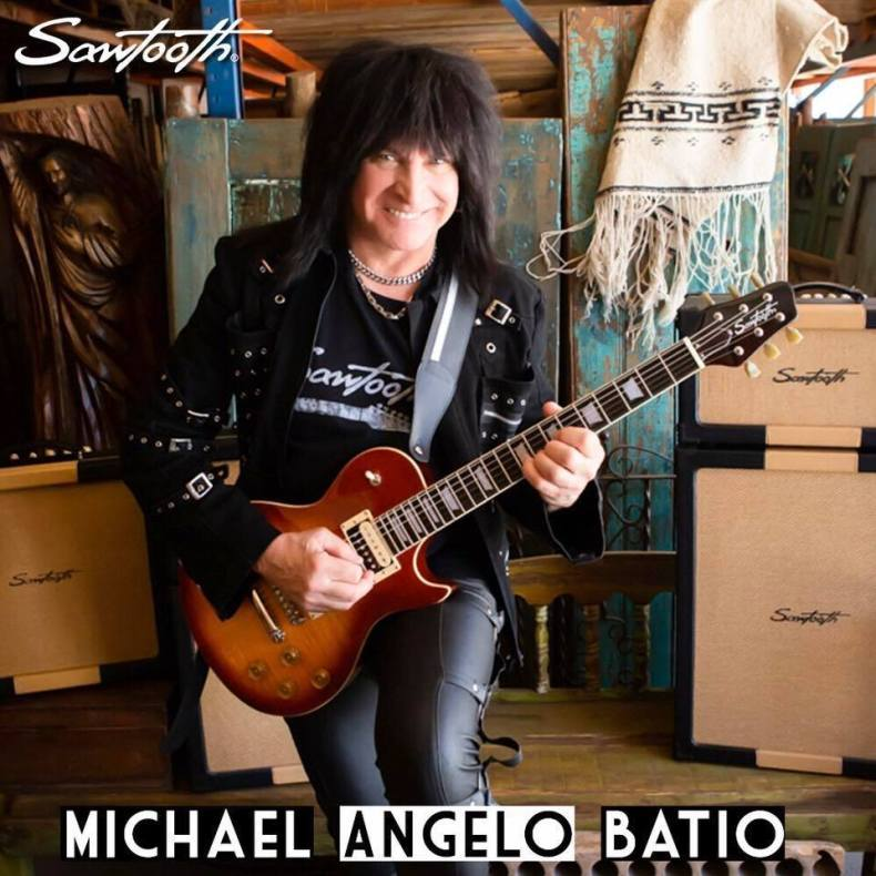 Michael Angelo Batio Is Back With A New Signature Guitar & New Record Due Out June 12