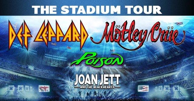 Motley Crue, Def Leppard & Poison Announce 2021 Stadium Tour Dates