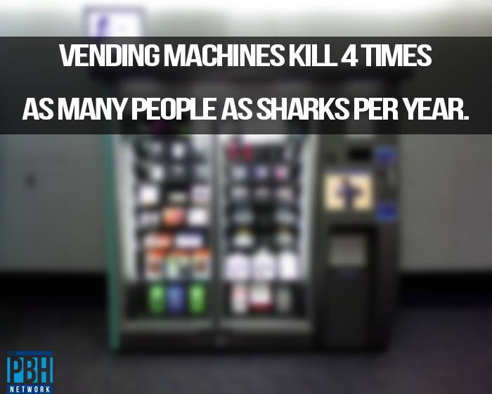 Vending Machine Deaths Amazing Facts