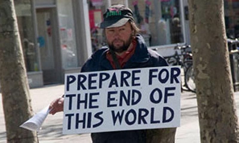 Image result for sign the end is near