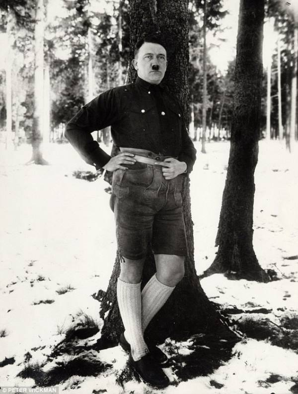 Banned Picture Of Hitler