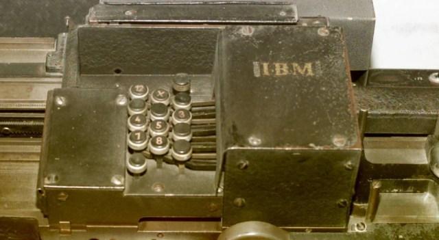 IMB Card Sorting Machine