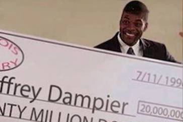 After He Won The Lottery, Jeffrey Dampier Was Killed By His Sister-In-Law