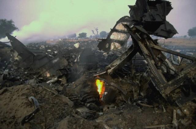 Charkhi Dadri wreckage