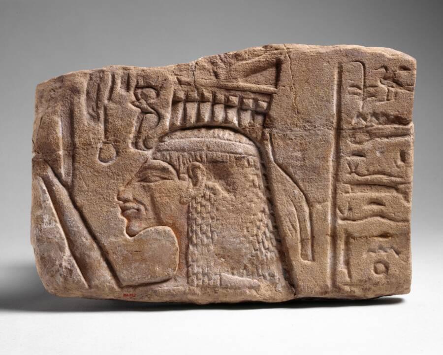 Relief Depicting Nefertiti