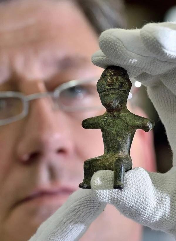 Germanic God Statue