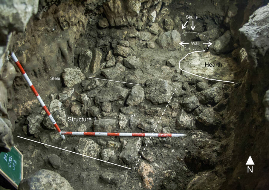 Interior Of Cueva De La Dehesilla