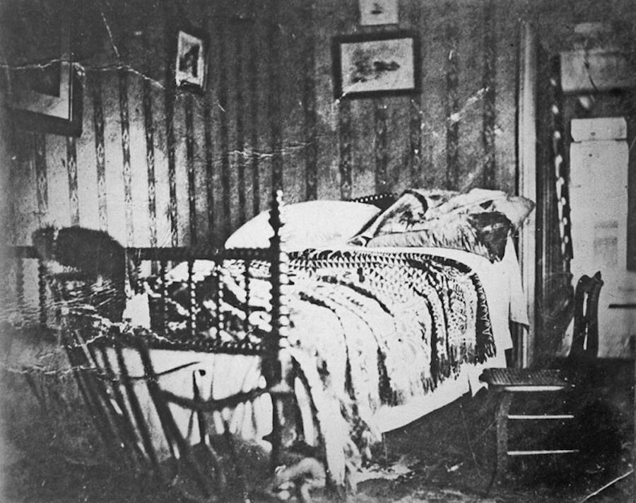 Deathbed Of Abraham Lincoln