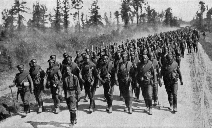Russian Troops In WWI