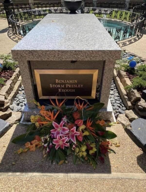 Benjamin Keough Grave