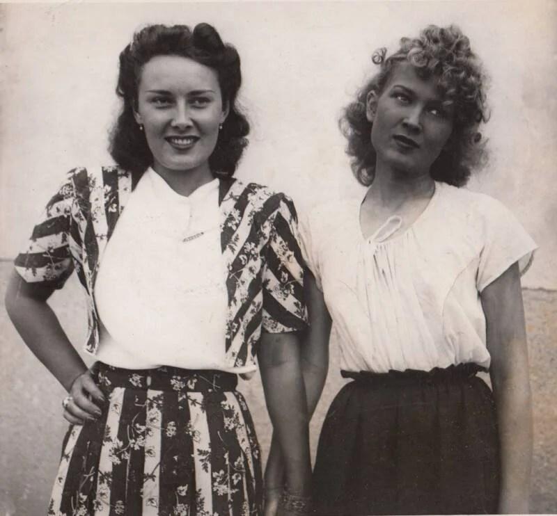 Lída Baarová And Zorka Janus