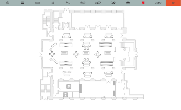 AllSeated Floorplan