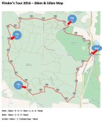 The 26km route
