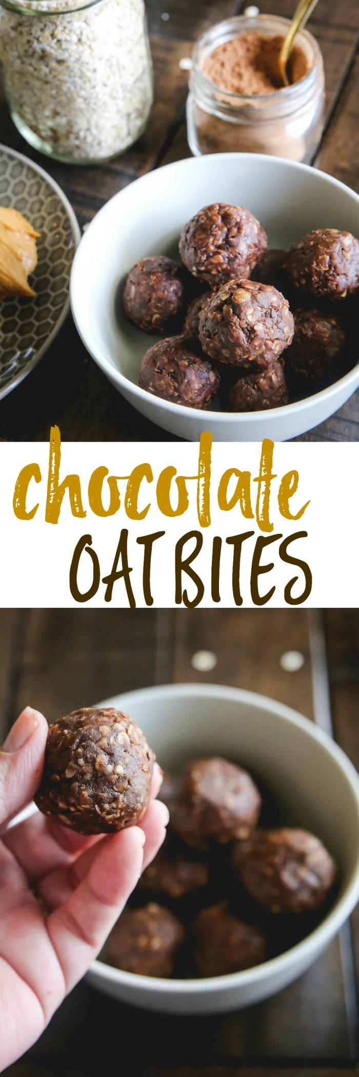 chocolate oat bites