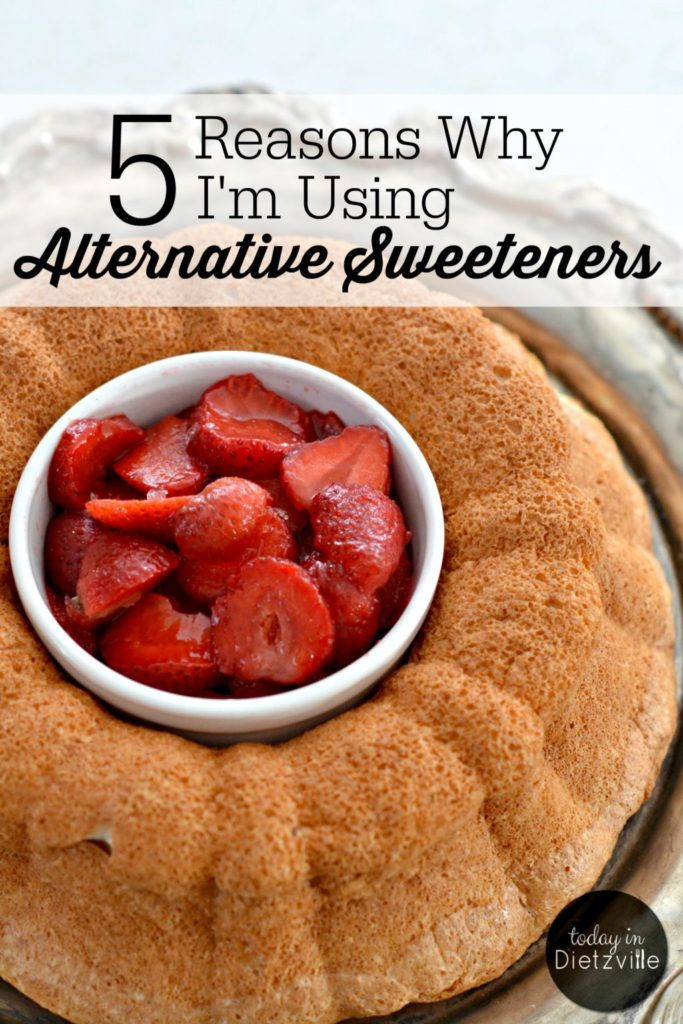 5 Reasons Why I'm Using Alternative Sweeteners | I've been using alternative sweeteners, like erythritol, xylitol, and stevia extract for weight loss, to balance my blood sugar, and gut health. What made me go from turning my nose up at them to using them for my family and myself? Here are the 5 Reasons Why I'm Using Alternative Sweeteners. | AllTheNourishingThings.com