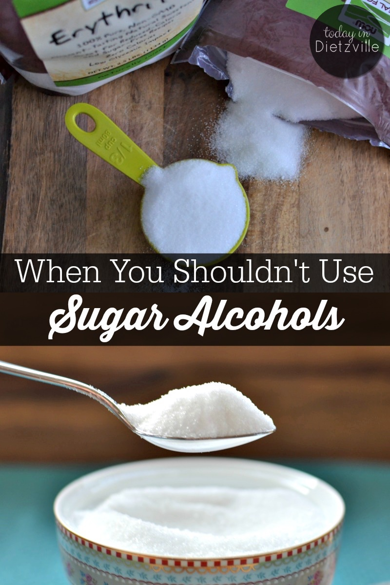 When You Shouldn't Use Sugar Alcohols | How do you know if you should or shouldn't use sugar alcohols? How do you know if they're right for you? Here are 5 instances when you shouldn't use sugar alcohols like xylitol, erythritol, and sorbitol. | AllTheNourishingThings.com