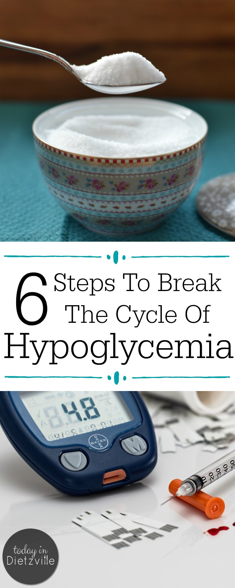 "Do you experience carb and sugar cravings, dizziness, shakiness, irritability, or feeling ""hangry""? These (& more!) are signs of hypoglycemia -- a precursor to insulin resistance and diabetes. Learn how to break the cycle of hypoglycemia and nourish your way out of imbalanced blood sugar TODAY!"