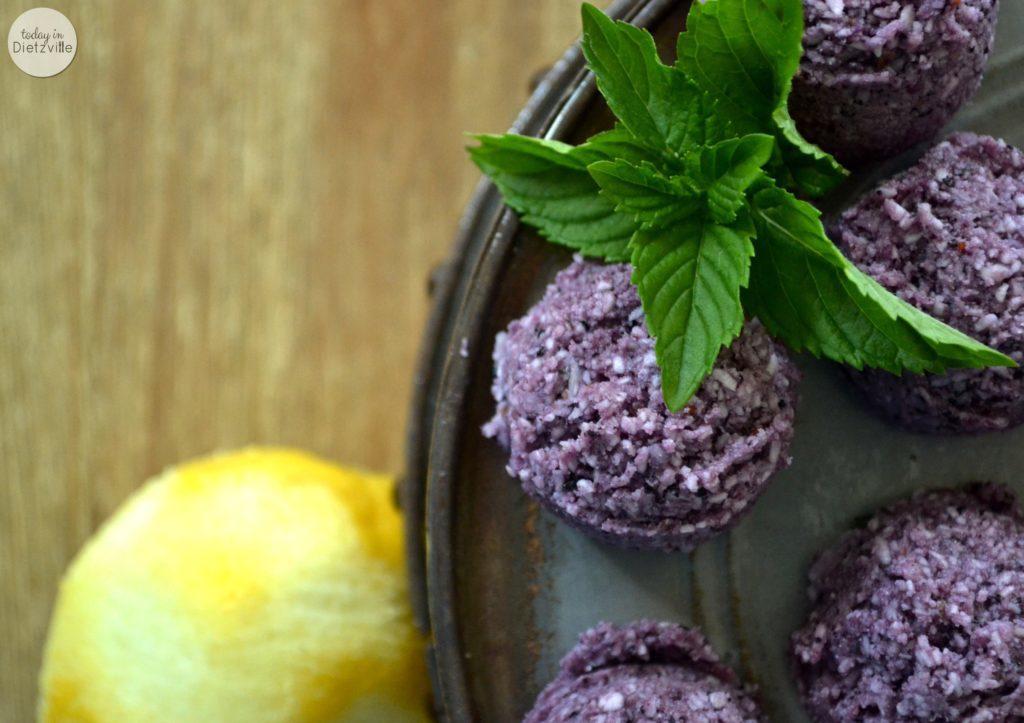 Blueberry Lemon Mint logo