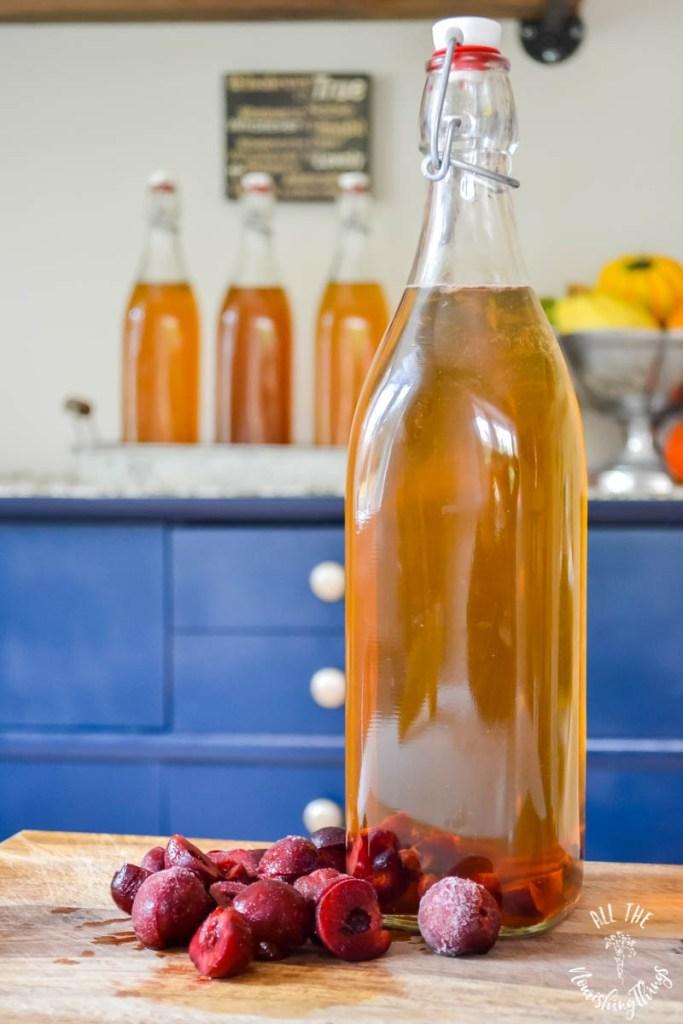 How To Flavor Kombucha With Frozen Fruit