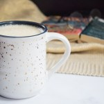 white mug of harry potter butter beer
