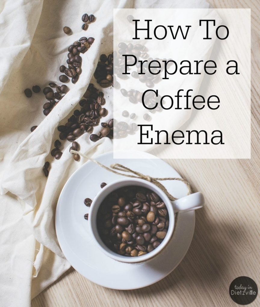 How To Prepare A Coffee Enema