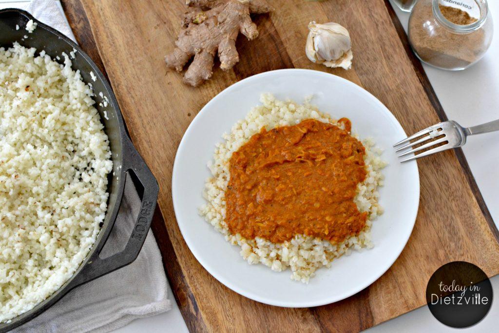 Instant Pot Chicken Tikka Masala {Paleo, Whole30}
