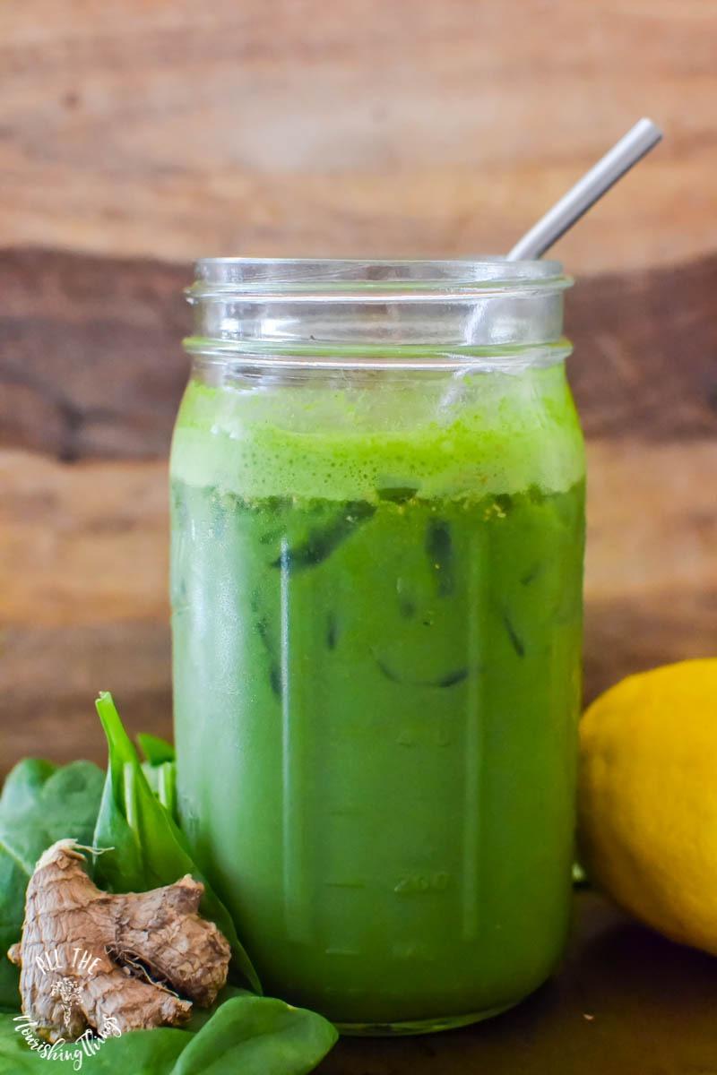 green hippie juice