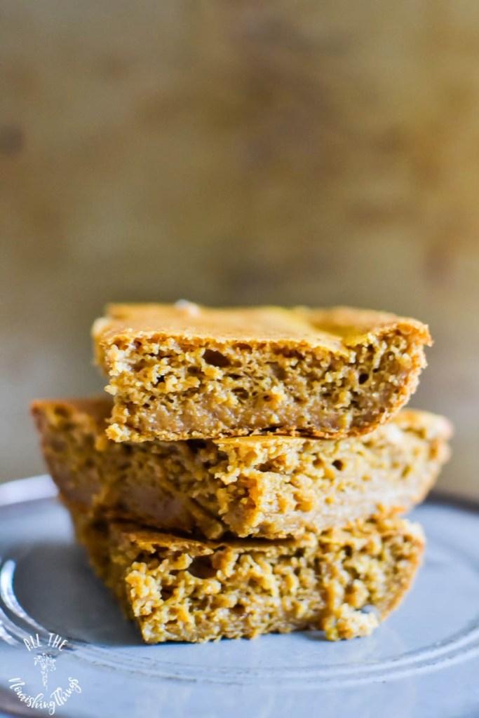Soaked Gluten-Free Pumpkin Spice Breakfast Cake