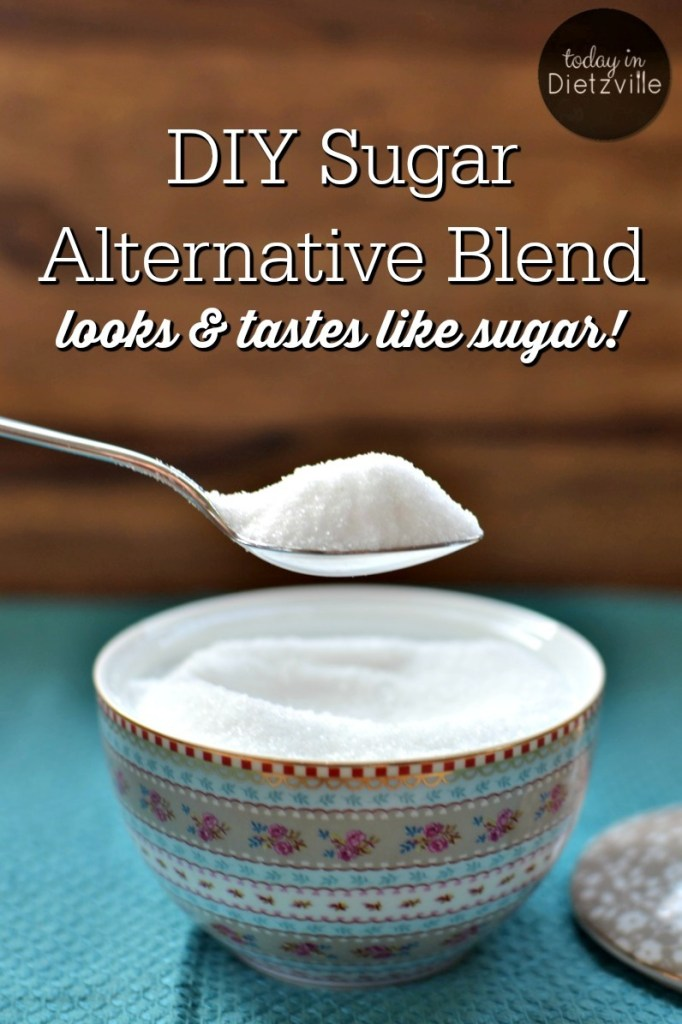 DIY Sugar Alternative Blend, aka Dietz Sweet {looks & tastes just like sugar!}
