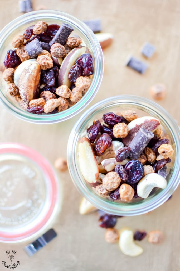 Paleo Tiger Nut Trail Mix (made with soaked & dried nuts!)