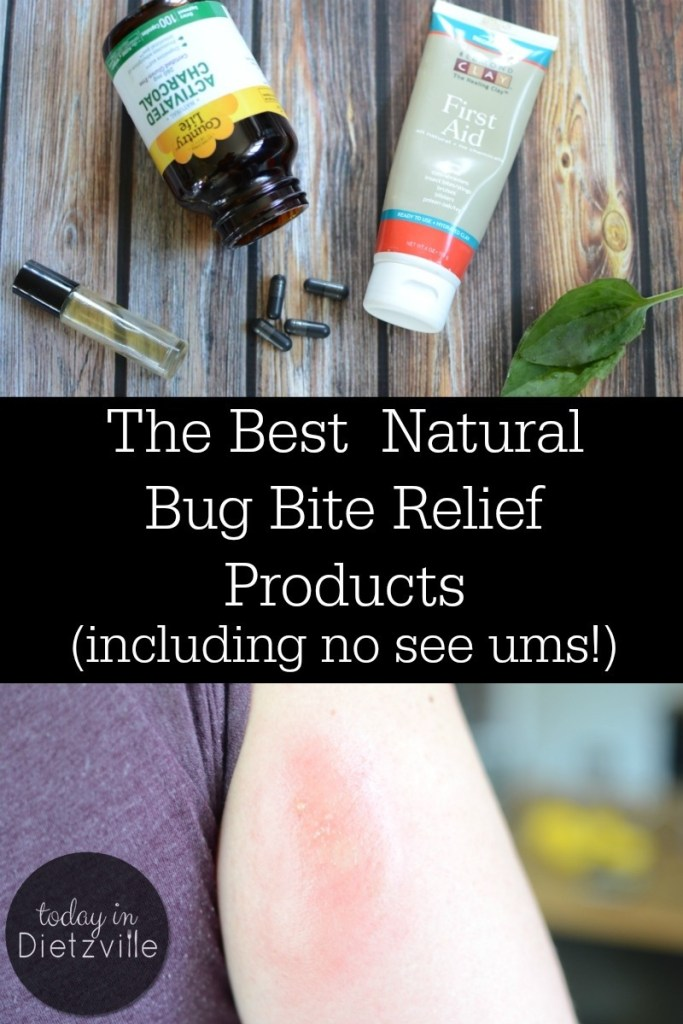 the best natural bug bite relief products