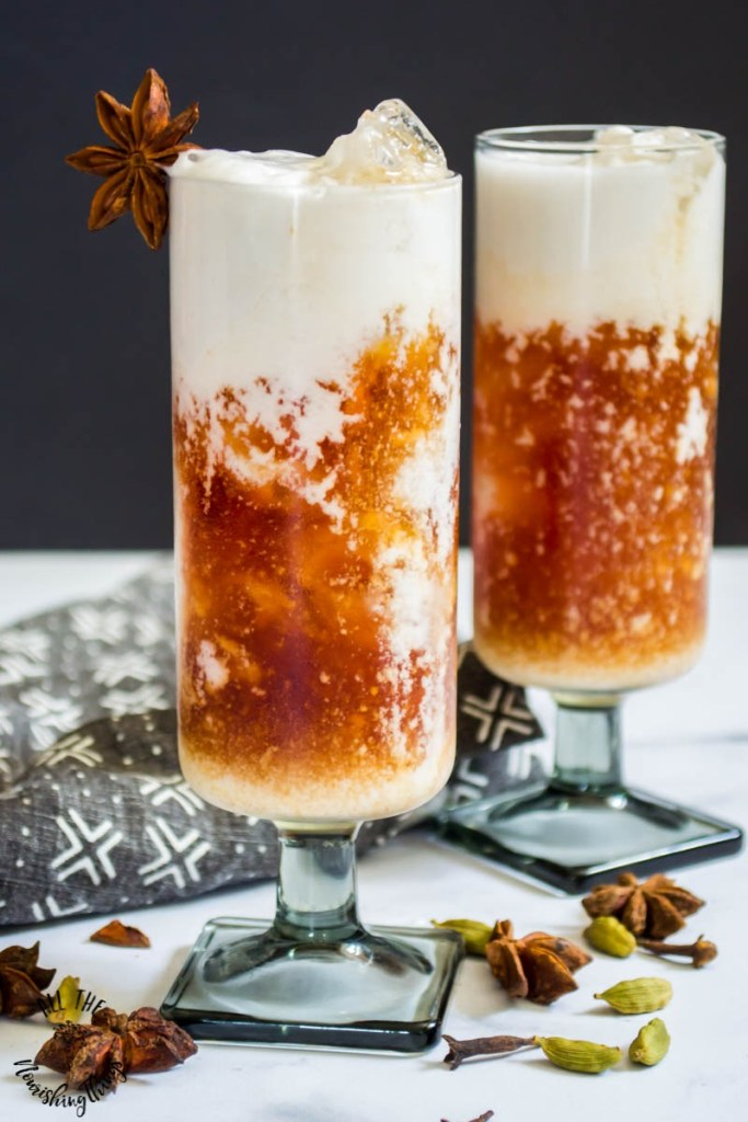 Easy Keto MCT Oil Thai Iced Tea (dairy-free & stevia-sweetened)