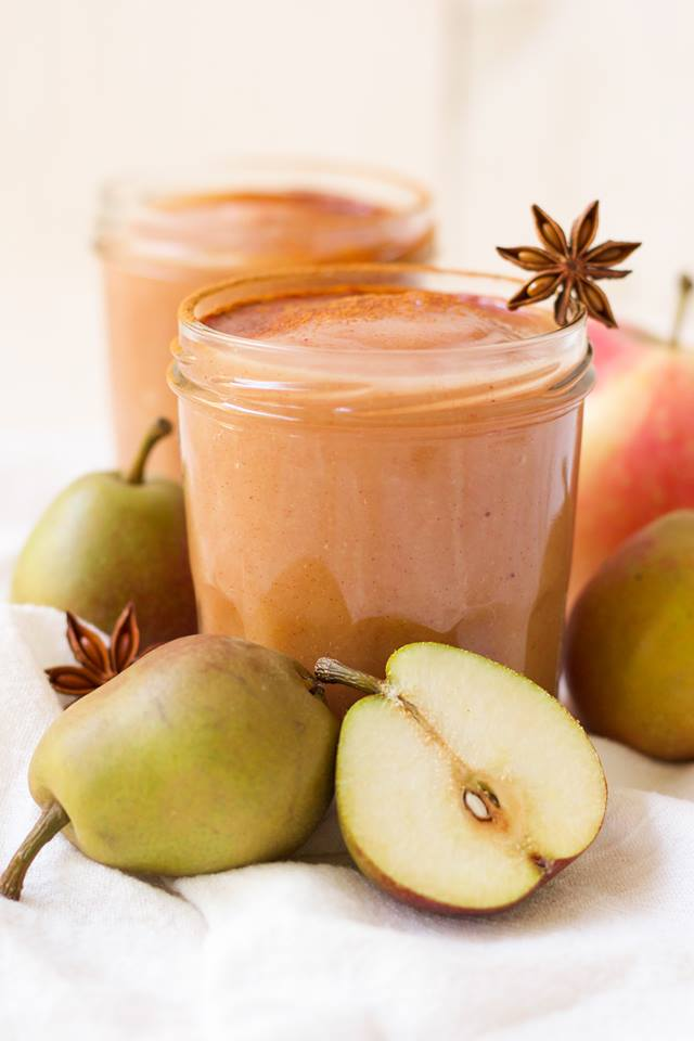 real food apple recipes instant pot pear applesauce