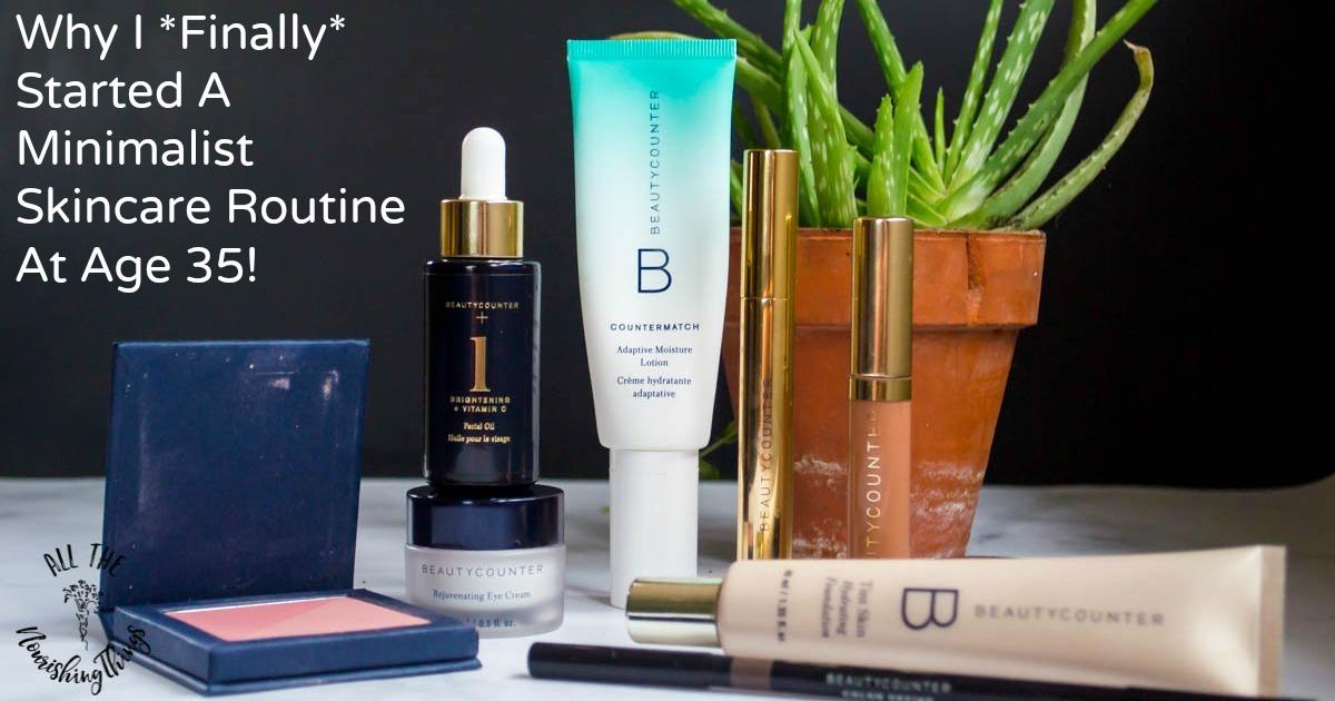 beautycounter minimalist skincare