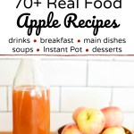 real food apple recipes apple monsters and sparkling apple cider